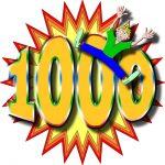 1000記事達成しました!